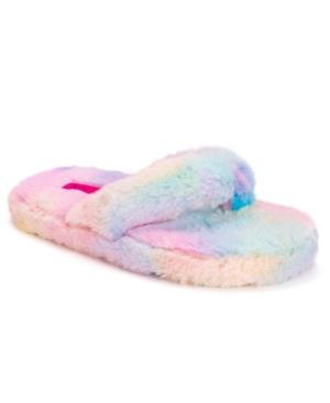 Women's Fluffy Flip Flop Slippers