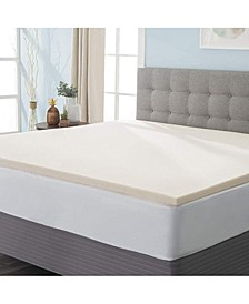Copper Infused Memory Foam Mattress Topper, Full