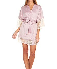 Womens Gabby Charmeuse Wrap