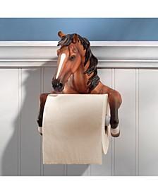 Steady Stallion Bathroom Toilet Paper Holder