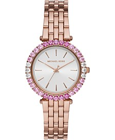 Women's Darci Rose Gold-Tone Stainless Steel Bracelet Watch 34mm