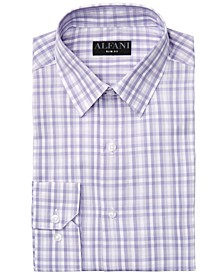 Alfani Men's AlfaTech Gingham Dress Shirt, Created for Macy's
