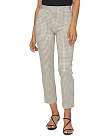 Carnaby Kick-Crop Capri Pants