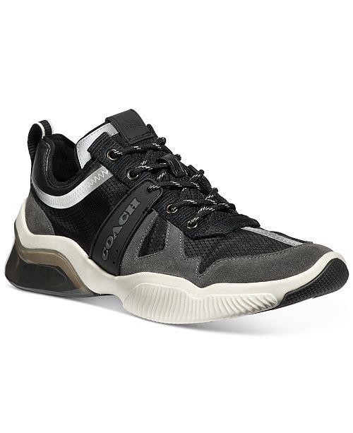 COACH Men's CitySole Tech Runner Sneakers