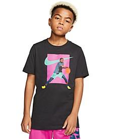 Big Boys Cotton Kyrie T-Shirt