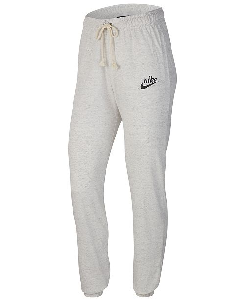 Nike Women's Sportswear Gym Vintage Distressed Pants