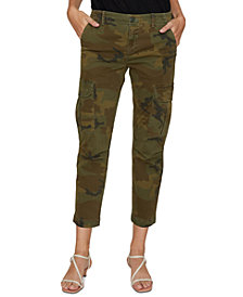 Sanctuary Squad Printed Cropped Pants