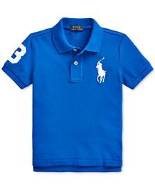 Little Boys Cotton Mesh Polo Shirt