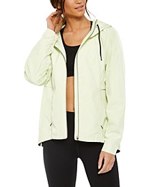 Hooded Side-Snap Jacket