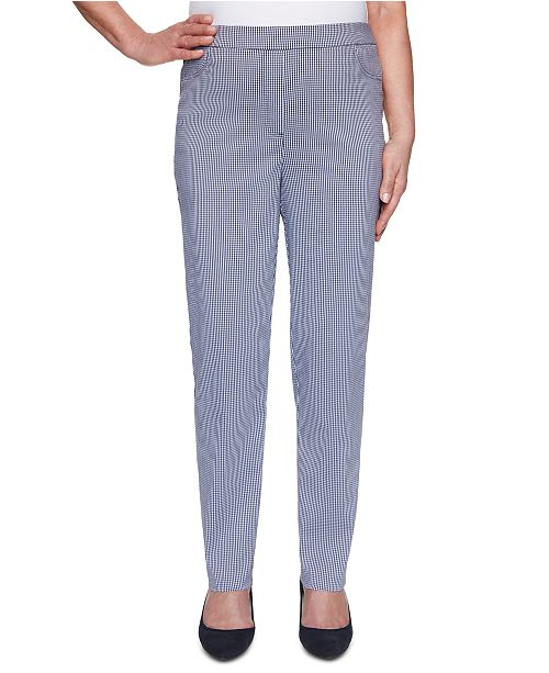 Alfred Dunner Easy Street Super-Stretch Pull-On Pants