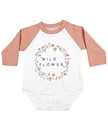 Wild Flower Baby Girl and Boy Bodysuit