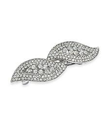 Silver-Tone Crystal Hair Clip, Created for Macy's