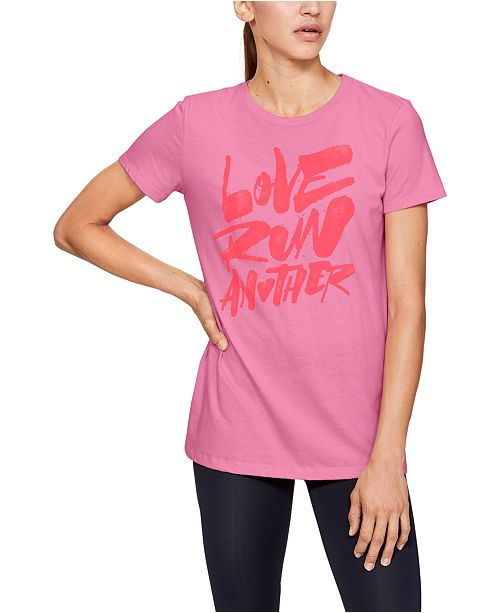 Under Armour Women's Graphic Running T-Shirt