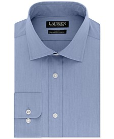 Men's Ultraflex Slim-Fit Non-Iron Stretch Solid Dress Shirt