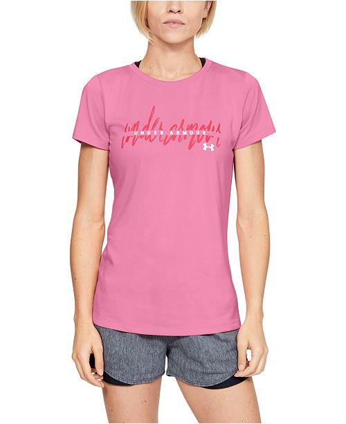 Under Armour Women's UA Tech Graphic T-Shirt