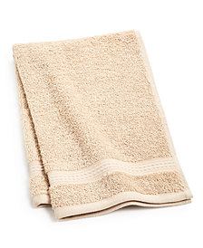 "Home Design Cotton 16""x 28"" Hand Towel, Created for Macy's"