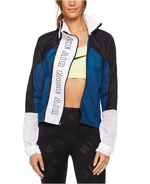 Nike Women's Air Water-Repellent Running Jacket