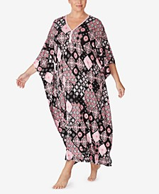 Printed Caftan Nightgown