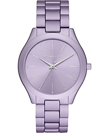 Women's Runway Lilac Aluminum Bracelet Watch 42mm