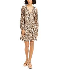 INC Animal-Print Shift Dress, Created for Macy's