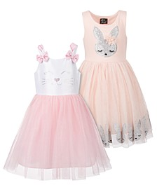 Little Girls Bunny Party Dress Separates