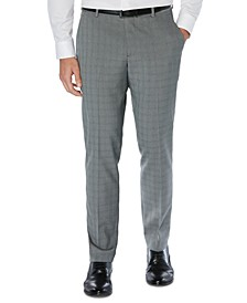Men's Portfolio Slim-Fit Stretch Tonal Heather Dress Pants