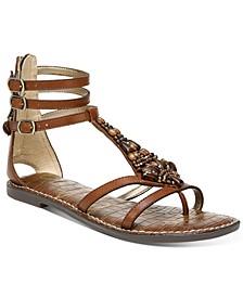 Ginger Beaded Gladiator Sandals