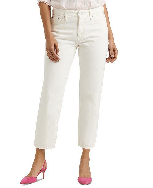 Lucky Brand Sienna Cropped Boyfriend Jeans