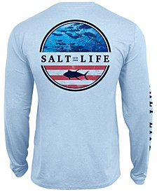 Men's Respect Slx UPF Performance Graphic Long Sleeve T-Shirt