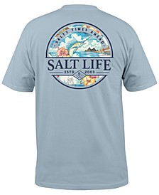 Men's Salty Times Graphic T-Shirt