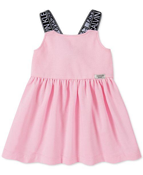 Calvin Klein Toddler Girls French Terry Dress