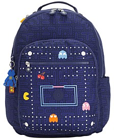 Seoul Pacman Maze Ground Backpack