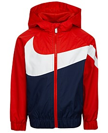 Little Boys Oversized Swoosh Windrunner Jacket