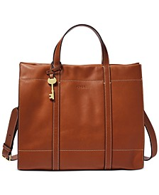 Carmen Leather Shopper