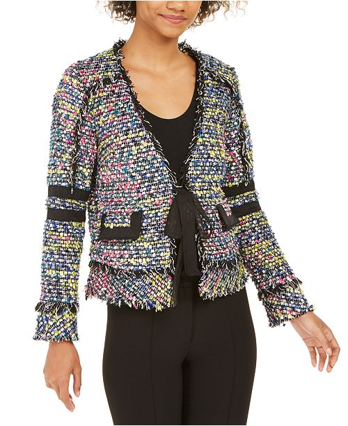 Rachel Zoe Coco Fringed Jacket