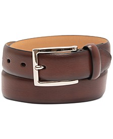 Men's Burnished Belt, Created for Macy's