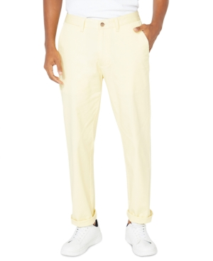 A casual classic re-imagined in fresh tones, these timeless deck pants from Nautica feature sleek lines and just enough stretch for comfort.