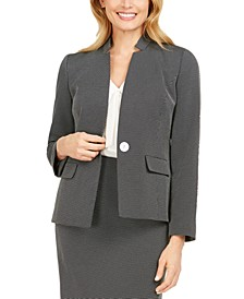 Notch-Collar Blazer
