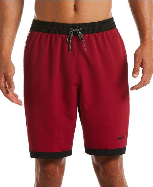 """Nike Men's Stripe Breaker 9"""" Volley Shorts"""