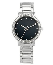 Women's Silver-Tone Bracelet Watch 37mm