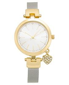 Women's Silver-Tone Mesh Bracelet Watch 35mm