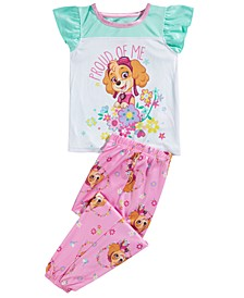 Toddler Girls 2-Pc. Paw Patrol Pajama Set