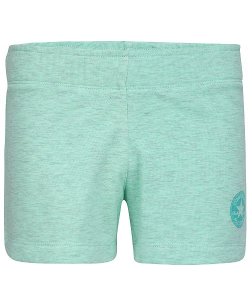 Converse Big Girls French Terry Pull-On Shorts