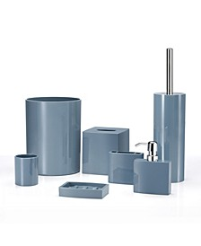 Iced 7 Piece Bathroom Accessory Set