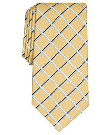 Men's Edward Grid Tie, Created for Macy's