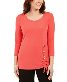 Hardware-Trim Tunic, Created for Macy's