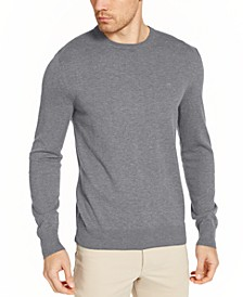 Men's Solid Liquid Sweater