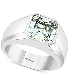 EFFY® Men's White Topaz Ring (5-1/3 ct. t.w.) in Sterling Silver