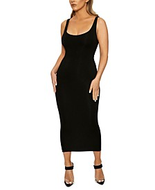 The NW Hourglass Midi Dress