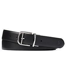 폴로 랄프로렌 벨트 Polo Ralph Lauren Mens Reversible Dress Belt,Black/saddle
